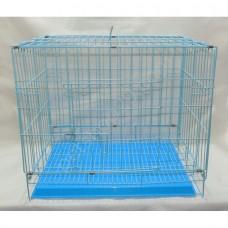 Köpek Kafesi Kedi Kafesi mavi 61X42X52 CM