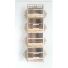 Ötüm Ders Kafesi 4 katlı Tel Geçme 100x27x17