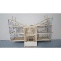 Ahşap Kafese Geçmeli Otomatik Kapanca 2 Lİ