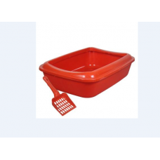 Açik Kedi Tuvaleti Kürek Hediyeli 50x34x15